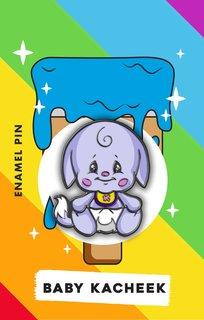 Baby Kacheek Pin
