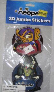 Master Vex 3D Jumbo Stickers