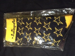 Black and Yellow Socks