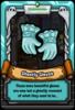 Ghostly Blue Gloves